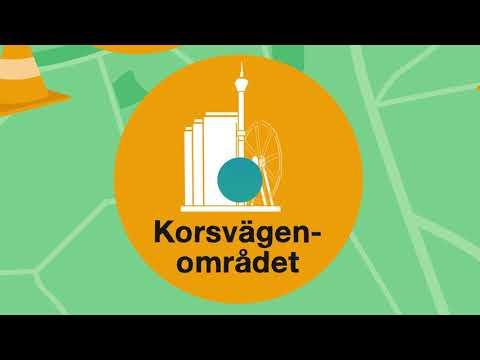 Korsvägenområdet – Sommararbeten i Göteborg