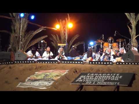 Tartit from Mali in Taragalte Festival 2012 – part 6, Mhamid Sahara Desert Morocco
