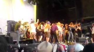 Iggy and the Stooges (Crowd on Stage) (Live Big Day Out Gold Coast 2011)