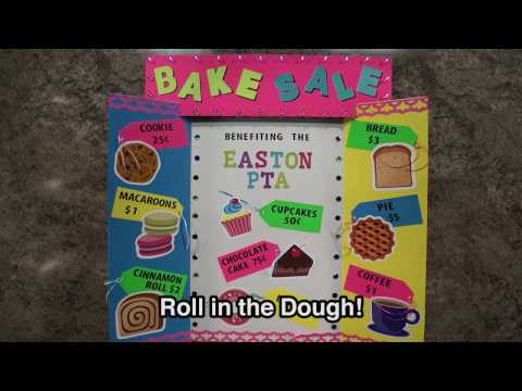 Make More Sales with a Great Sign!   Bake Sale Poster Idea