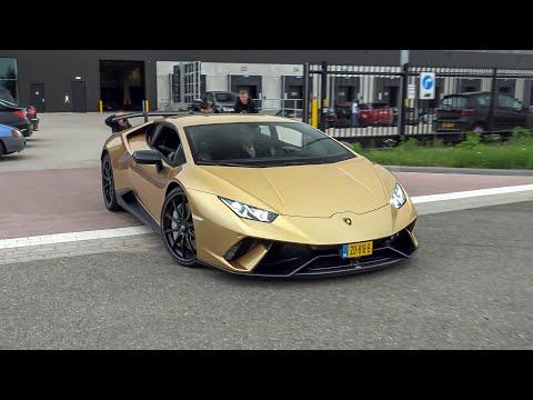 Lamborghini Huracan Performante - LOUD Accelerations & Launch Controls !