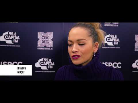Oxford Street Christmas Lights switch on with Rita Ora