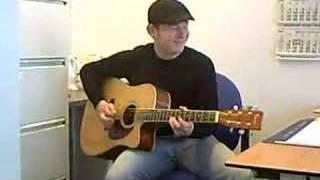 Nagy spielt Desperado Soundtrack auf Gitarre Part II