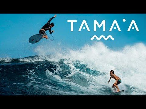 DC SURF IN TAHITI: TAMA'A