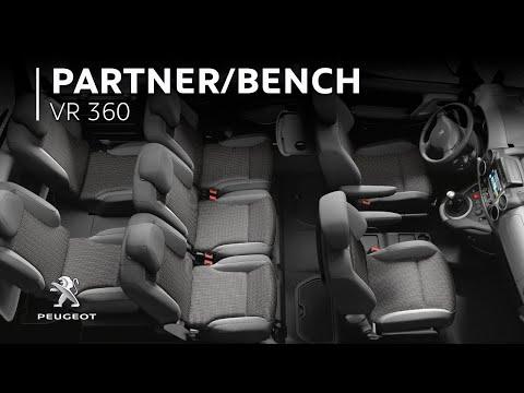 PEUGEOT PARTNER – 360 VR Video: Multiflex Bench and Overload Indicator