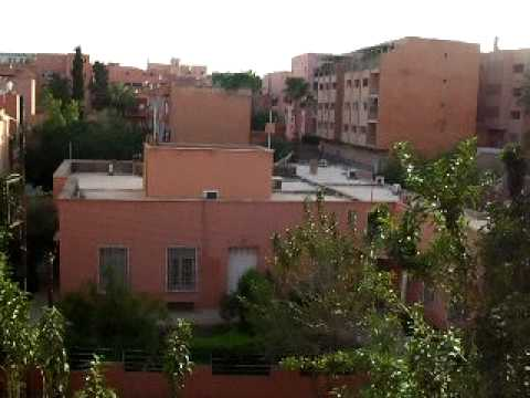 Marrakech 2009 – View From The Hotel Window