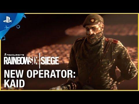 Rainbow Six Siege- Operation Wind Bastion: Kaid | PS4