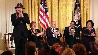 Carlos Santana Honored by President Obama