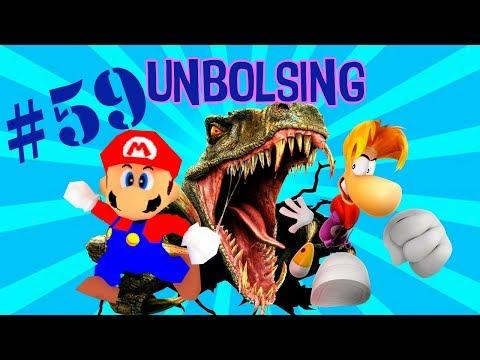 UNBOLSING 59 MARIO, RAY MAN Y DINOSAURIOS