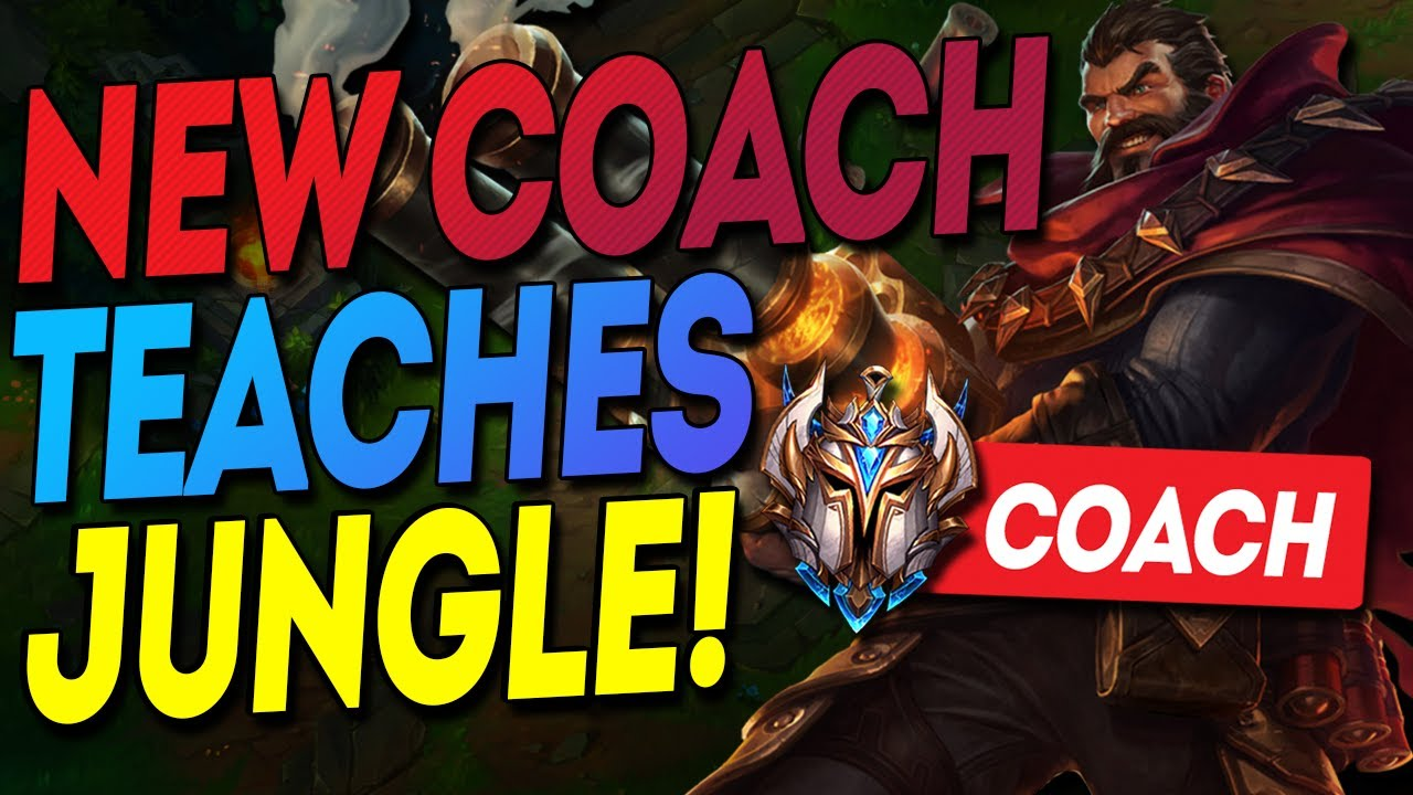 NEACE - I Let my CHALLENGER friend teach a GOLD Jungler, Should I add him to my coaching team?