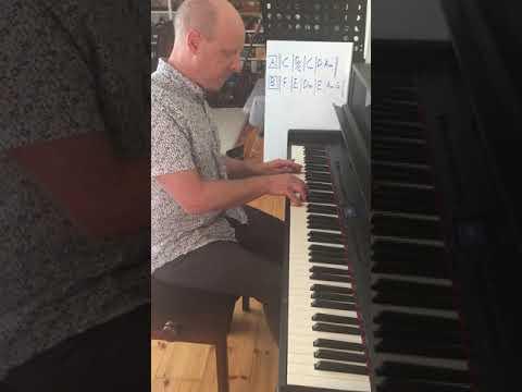 Hoppvals efter Ola Lans (piano)