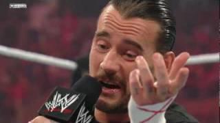 CM Punk negotiates his contract with Mr. McMahon width=
