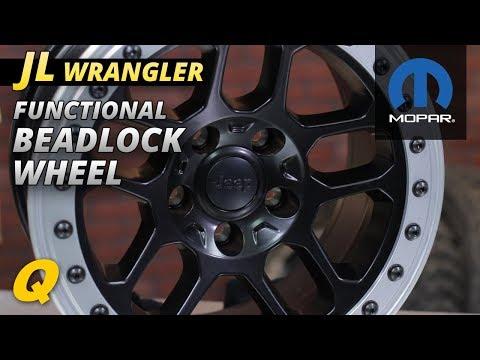 Mopar Functional Beadlock Wheel for Jeep Wrangler JK & JL