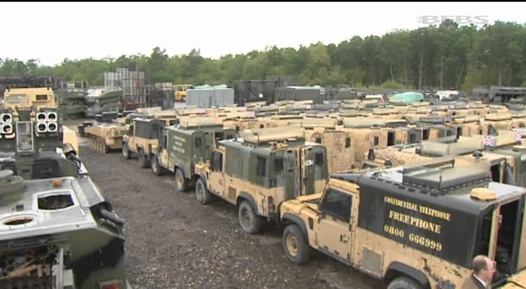 British Forces Vehicles Prove A Valuable Source Of Income
