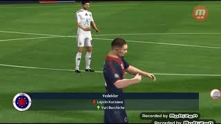Qarabağ FK-Paris saint-germain 2-0 Maksim Medvedevin gözəl oyunu (Dream league soccer 2018)