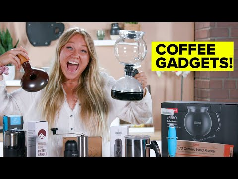 I Tested Amazon?s Most Popular Coffee Gadgets