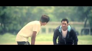 Aircel New Advertisement Dhoni with Kids A Little Extra width=