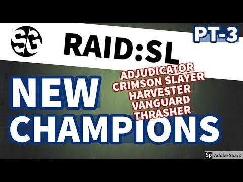 [RAID SHADOW LEGENDS] NEW CHAMPIONS PT-3 / RARES