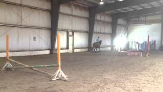 little morgan & Charity (Cantering)