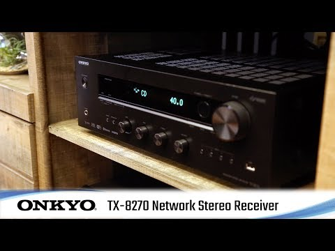 TX-8270 – Network Stereo Receiver