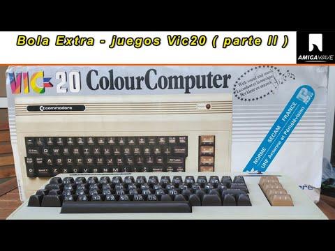 Bola Extra - Juegos Vic20 ( parte II ) con Makimsx y Edu Arana.