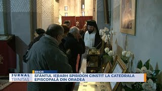 Sfantul Ierarh Spiridon, cinstit la Catedrala Episcopala din Oradea