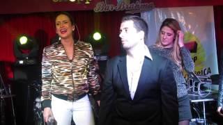 Claudia Leitte com Mauricio Meirelles e Dani Calabresa do CQC - Lepo Lepo - Bar Brahma - 28/05/2014