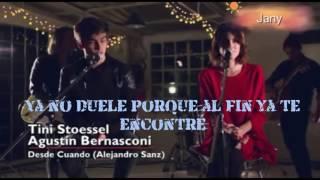 Desde Cuando | Tini Stoessel y Agustín Bernasconi - Letra