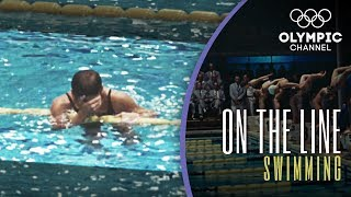 The unexpected wave that defined an Olympicswimming race  On the Line