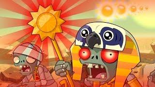 Plants Vs Zombies 2 Fan Animation #2 : Ra Zombie