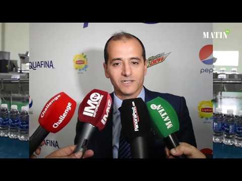 Video : L'eau de table Aquafina débarque au Maroc
