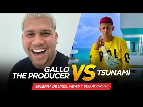 🔥 TSUNAMI VS GALLO THE PRODUCER--- Su pelea Es Por Quien Tiene Más Views Y Se dicen DE TO '🔥