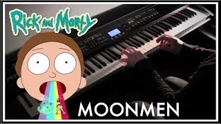 Moonmen - Rick and Morty Piano Style Cover