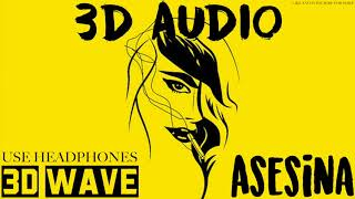 Brytiago X Darell - Asesina   3D Audio (Use Headphones)