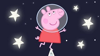 Peppa Pig English Episodes | Up in Space with Peppa Pig! Peppa Pig Official
