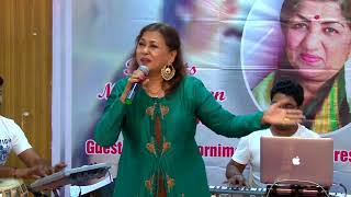 Tera Mujhse Hai Pehle Ka by Poornima at Jashn Lata Special
