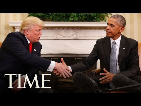 10 Days that Define the Obama Presidency: Trump's Election   TIME