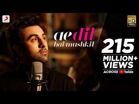 Ae Dil Hai Mushkil Lyrics (Title Song) - Arijit Singh