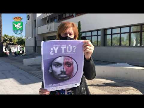 25N Diputación de Cádiz. Acción conjunta contra la violencia machista. San José Del Valle