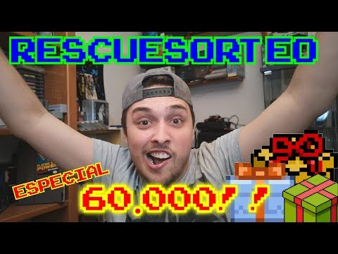 ESPECIAL 60.000 SUBS || RESCUESORTEO #1 !!