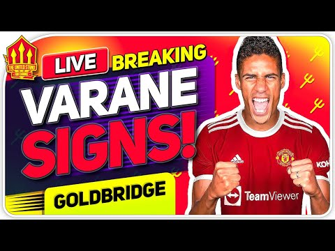 Raphael VARANE SIGNS FOR MANCHESTER UNITED! Man Utd Transfer News