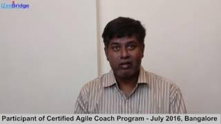 Participant - Kaushik : Certified Agile Coach Program - ICP-ACC
