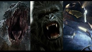 King Kong vs Godzilla vs Pacific Rim Trailer(Fan Made)