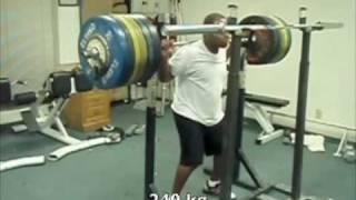 240 Kg RAW squat @ 86kg
