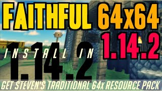 How to get faithful textures in minecraft 1 14 2 download