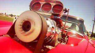 Driving Supercharged 454 Big-Block 1966 Corvette Pro Street Fast Lane Classic Cars