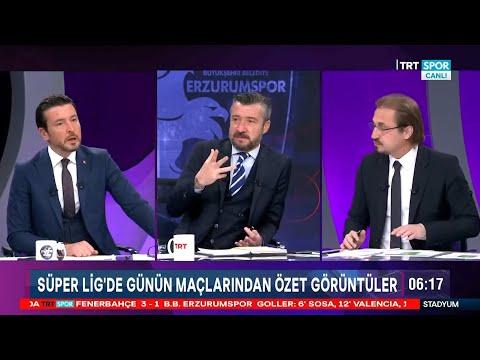 STADYUM | Fenerbahçe-BB Erzurumspor: 3-1 | Maç sonu yorumları, Jose Sosa, Ozan Tufan, Valencia