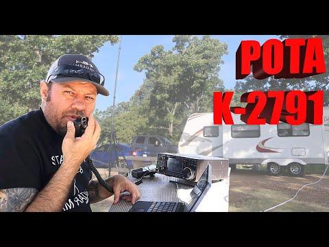 POTA Scramble, Part 1! - Ham Radio Parks on the Air from K-2791