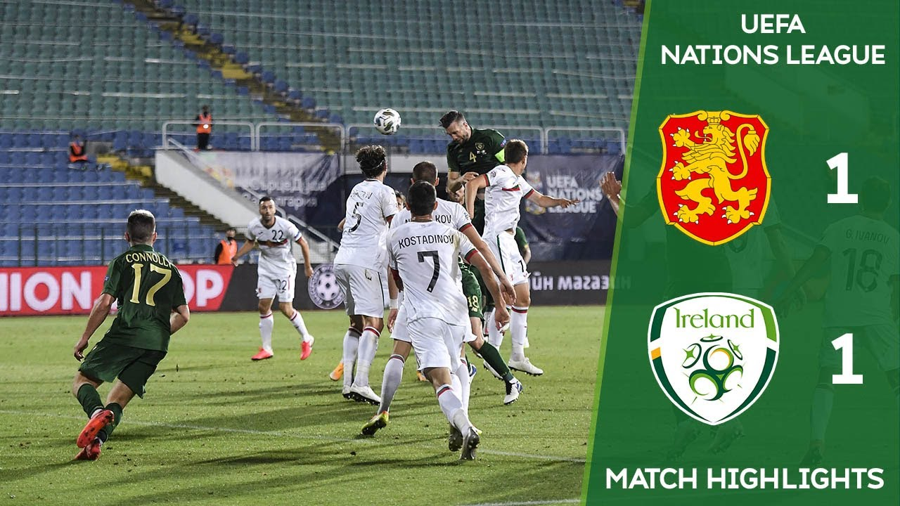 Bulgaria v Rep of Ireland in UEFA Nations League