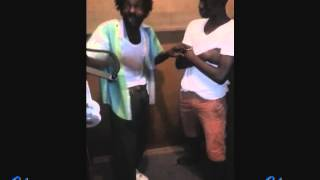 County Man aka Gully Bop Freestyling A New Song @ Frenz 4 Real Recording Studio